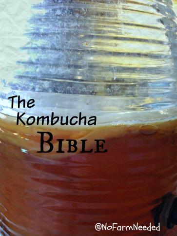 Kombucha Bible NoFarmNeeded