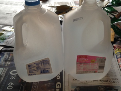 Milk Jugs NoFarmNeeded