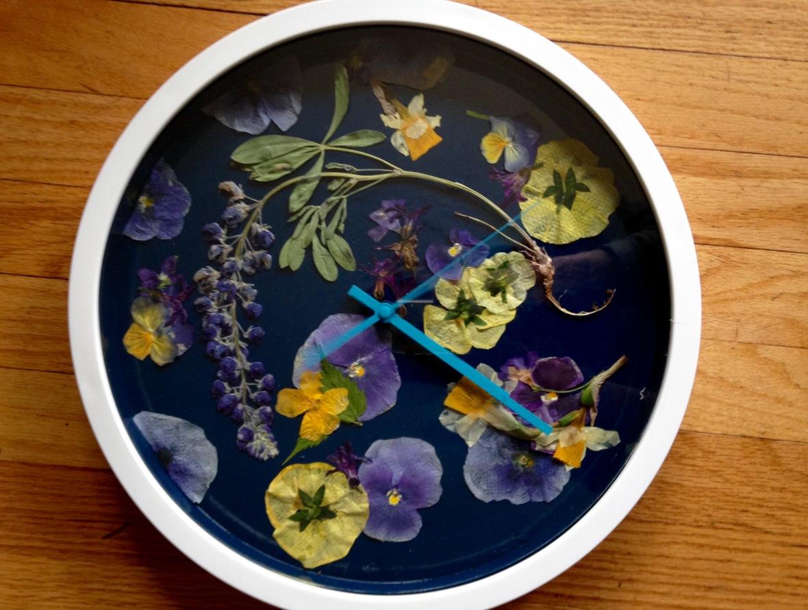 Pressed Flower Clock NoFarmNeeded