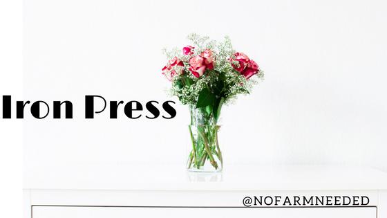Iron Press @NoFarmNeeded