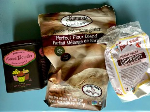 These are the three flours I use